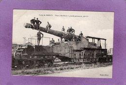 10  CAMP De MAILLY Pièce D'Artillerie à Grande Puissance 320 Mm   Militaria - Mailly-le-Camp