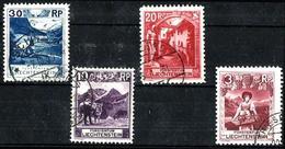Liechtenstein 4 Sellos Usados. Cat.14,50€ - Used Stamps