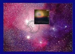 Liechtenstein 2009  Mi.Nr. 1505 , EUROPA  CEPT  Astronomie Weltallnebel - Maximum Karte - Erstausgabe Vaduz 2. März 2009 - Europa-CEPT