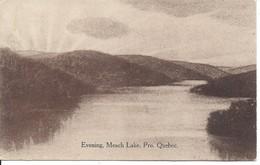 1910 - Evening, Meach Lake, Quebec, C.H. Thorburn, Ottawa (18.519) - Autres