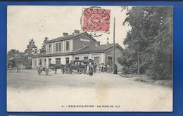 BAR-sur-AUBE   La Gare   Animées          écrite En 1905 - Bar-sur-Aube