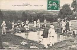 56 - Carnp De Coëtquidan (Morbihan) - Une Corvée De Lavage - Guer Coetquidan