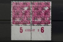 Bizone, MiNr. 47 II, Unterrand Mit HAN 419247.2, Postfrisch / MNH - Bizone