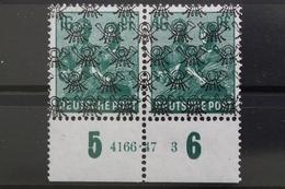Bizone, MiNr. 42 II, Unterrand Mit HAN 4166.47 3, Postfrisch / MNH - Bizone