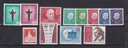 Berlin - 1958/59 - Michel Nr. 179/190 - Postfrisch - 22 Euro - Neufs