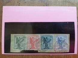 REGNO - 3° Anniversario Vittoria - Nn. 119/22 Timbrati + Spese Postali - Used