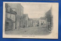 CHAMPIGNOL   Grande Rue    écrite En 1905 - France