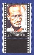 AUTRICHE Fred Zinnemann Réalisateur Et Producteur. Neuf**. Films: Tant Qu\'il Y Aura Des Hommes Et Le Train Sifflera Tro - Cinéma