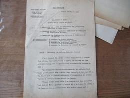 """ETAT FRANCAIS LILLE LE 27 MAI 1942 LE PREFET ADMISSION DES ENFANTS DANS LES CINEMAS """"LA PROPAGANDA-STAFFEL-NORDFRANKREIC - Historische Dokumente"""