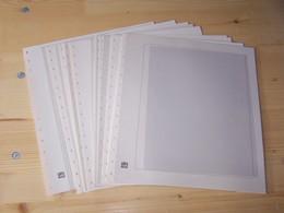 Einsteckblätter 720 Dual Blanko, Neuwertig, 10 Blatt - Blankoblätter