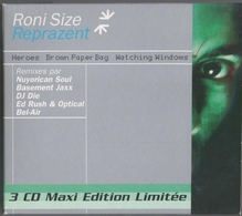 COFFRET 3 CD MAXI EDITION LIMITéE RONI SIZE REPRAZENT TRèS BON ETAT & RARE - Dance, Techno & House