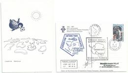 YT 457 - Marthe Emmanuel - Gérant Postal - Dumont D'Urville - Terre Adélie - 04/01/2007 - Briefe U. Dokumente