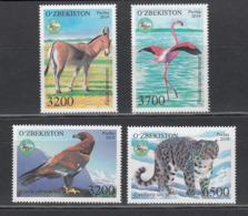 Uz 1365-68 Uzbekistan Usbekistan 2019 Fauna Of Uzbekistan - Usbekistan