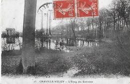Chaville Vélizy. Le Ponton Sur L'étang Des écrevisses. - Other Municipalities