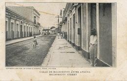 Ponce Calle De Baldorioty Antes Atocha . Undivided Back - Puerto Rico