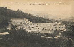 Jesuit Retreat House Seminario San Idelfonso Aibonito . Light Crease - Puerto Rico