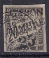 Gabon 1889 Yvert#13 Used, Damaged - Gabon (1886-1936)