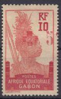 Gabon 1915 Croix Rouge Yvert#80 Mint Hinged - Unused Stamps