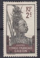 Gabon 1910 Yvert#34 Mint Hinged - Unused Stamps