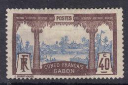 Gabon 1910 Yvert#42 Mint Hinged - Unused Stamps