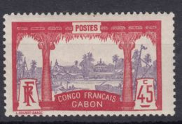 Gabon 1910 Yvert#43 Mint Hinged - Unused Stamps