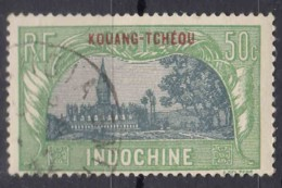 Kouang-Tcheou 1927 Yvert#94 Used - Kouang-Tchéou (1906-1945)