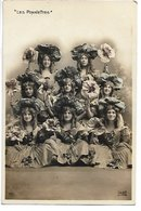 L100F002 - Les Ponnettes - Artistes De Cabaret - MG N°510 - Entertainers