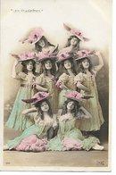 L100F004 - Les Ponnettes - Artistes De Cabaret - MG N°510 - Entertainers