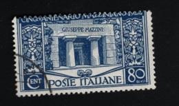 1922 20. Sept. Mazzini Mi IT 159 Sn IT 142 Yt IT 123 Sg IT 128 Sas IT 130 Un IT 130 - Gebraucht