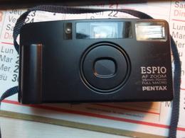 Appareil Photo ESPIO AF ZOOM - 35 Mm- 70 Mm - FULL MACRO PENTAX + Sacoche. - Supplies And Equipment