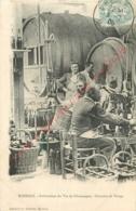 51.  EPERNAY .  Fabrication Du Vin De Champagne .  Chantier De Tirage . - Epernay