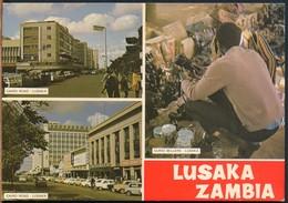 °°° 18915 - ZAMBIA - LUSAKA - VIEWS - 1977 With Stamps °°° - Zambia