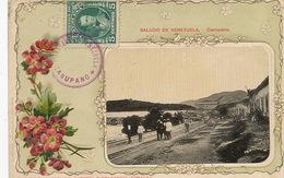 Carupano Saludos De Venezuela  Litho Embossed Card  . Stamped But Not Postally Used - Venezuela