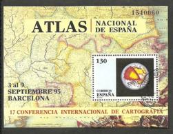 1995-ED. 3388 H.B.-CARTOGRAFIA-USADO- - 1931-Hoy: 2ª República - ... Juan Carlos I