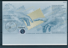 ESPAGNE  -   2009  , Type Be32   -  Printing Date:  20070723  -   Reply Coupon Reponse , Antwortschein - Unclassified