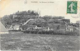 TILLIERES : LES REMPARTS DU CHATEAU - France