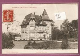 Cpa  Fontaine Les Luxeuil Chateau Gunther  - éditeur Pechmalnec N°6901 - France