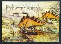 Antigua Barbuda 2005** Mi.Bl.610. Prehistoric Animals, MNH [13;195] - Briefmarken