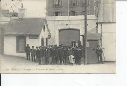 BREST   L'arrivee Des Bleus1914 - Brest