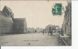 BRULON   Place De L'eglise 1910 - Brulon