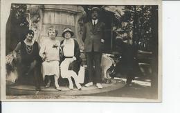 LAMALOU LES BAINS  Fontaine De La Place Du Parc  Carte Photo 1928 - Lamalou Les Bains