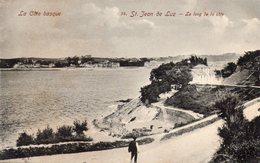 CIBOURE - St Jean De Luz - Le Long De La Côte - AVT 54 - écrite - Tbe - Route Vers Socoa - Ciboure