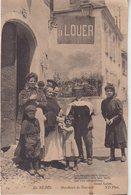 En BEARN : Marchand De Bourridé . ( Point De Colle Au Verso ) . - Other Municipalities
