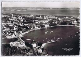 56 - Larmor-Baden (Morbihan) - La France Vue Du Ciel - Vue D'ensemble Et Le Port Lagaden - Larmor-Plage