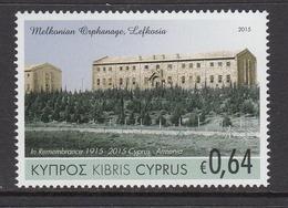 2015 Cyprus Armenia Massacre Genocide Complete Set Of 1 MNH @  Face Value - Cyprus (Republiek)