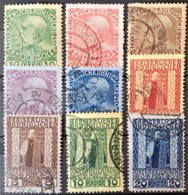 AUSTRIAN LEVANTE 1908 - Canceled - ANK 53-61 - Complete Set! - Levant Autrichien