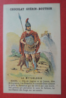 CHROMO.  Guerin-Boutron. Baster & Vieillemard. La  Mythologie.  N° 6.  MARS. - Chromos
