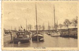"""LILLO-ANTWERPEN """"DE HAVEN """"UITGAVE HOTEL SCALDIS-LILLO FOTO : J.VAN HEESCH,DEURNE - Antwerpen"""