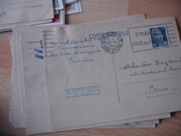 Lot De 11 Entier Postal  Entiers Postaux Marianne Gandon 5 F Commande Medicale - Entiers Postaux