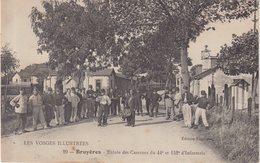 BRUYERES : Entrée Des Casernes Du 44 E Et 152 E D'Infanterie . - Bruyeres